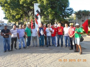 MOVIMENTO DO DIA 15.01.2015